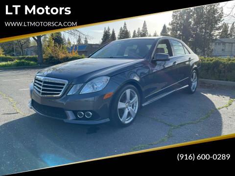 2010 Mercedes-Benz E-Class for sale at LT Motors in Rancho Cordova CA