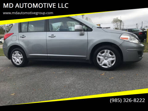 2010 Nissan Versa for sale at MD AUTOMOTIVE LLC in Slidell LA