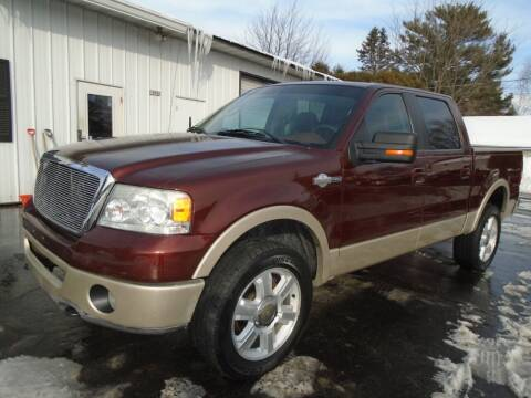 2007 Ford F-150 for sale at NORTHLAND AUTO SALES in Dale WI