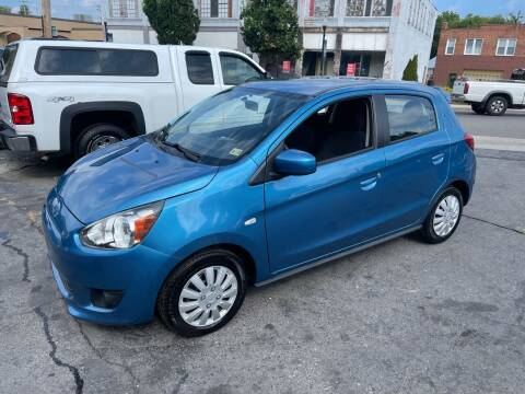 2015 Mitsubishi Mirage for sale at East Main Rides in Marion VA