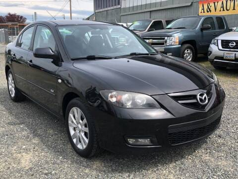 2008 Mazda MAZDA3 for sale at A & V AUTO SALES LLC in Marysville WA
