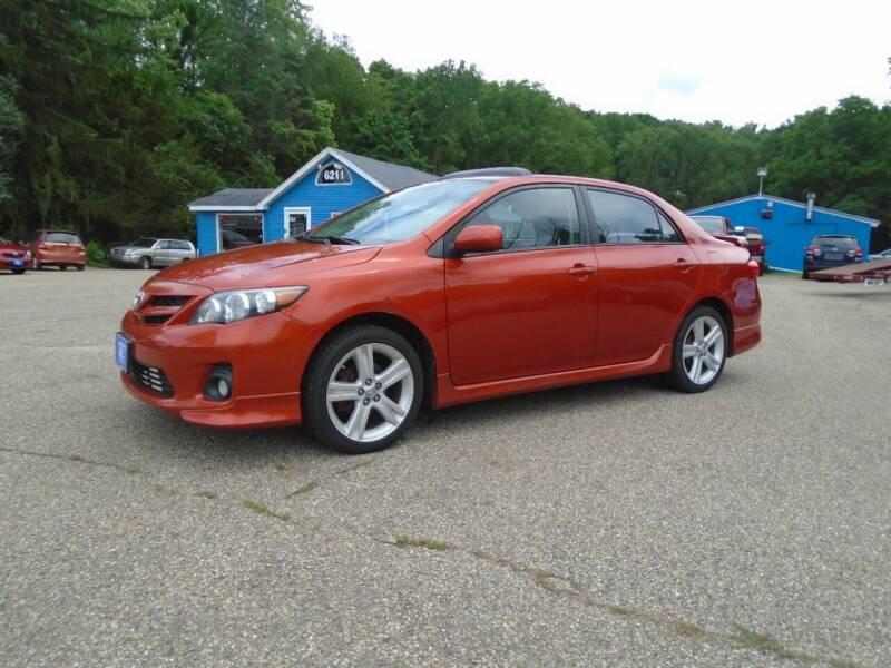 2013 Toyota Corolla for sale at Michigan Auto Sales in Kalamazoo MI