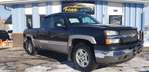 2005 Chevrolet Silverado 1500 for sale at Freeland LLC in Waukesha WI