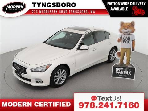 2016 Infiniti Q50 for sale at Modern Auto Sales in Tyngsboro MA