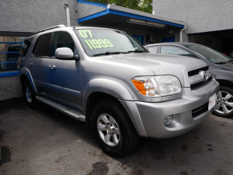 2007 Toyota Sequoia for sale at M & R Auto Sales INC. in North Plainfield NJ