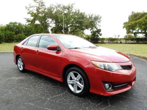 2013 Toyota Camry for sale at SUPER DEAL MOTORS 441 in Hollywood FL