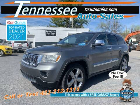 2011 Jeep Grand Cherokee for sale at Tennessee Auto Sales in Elizabethton TN