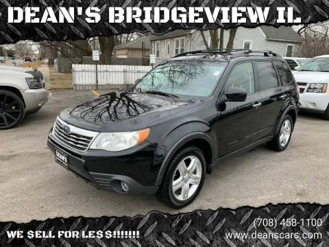 2009 Subaru Forester for sale at DEANSCARS.COM in Bridgeview IL