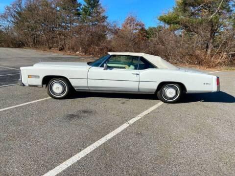 1976 Cadillac Eldorado for sale at Clair Classics in Westford MA