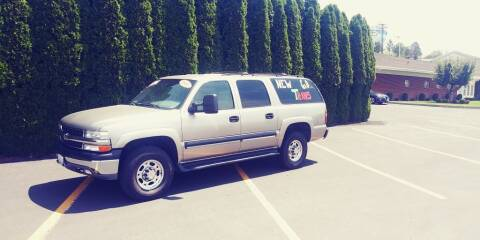 2001 Chevrolet Suburban for sale at C & V Auto Sales & Service in Moses Lake WA