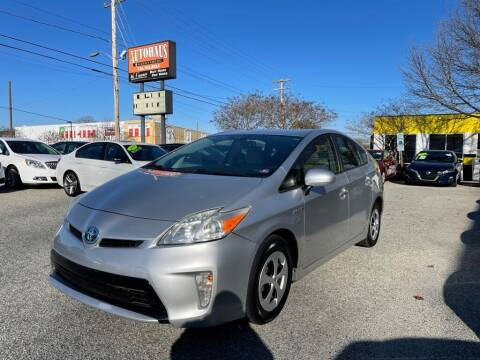 2013 Toyota Prius for sale at Autohaus of Greensboro in Greensboro NC