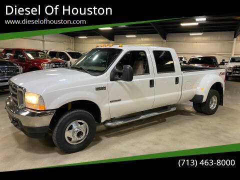 2002 Ford F-350 Super Duty for sale at Diesel Of Houston in Houston TX