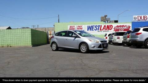 2012 Ford Focus for sale at Westland Auto Sales on 7th in Fresno CA