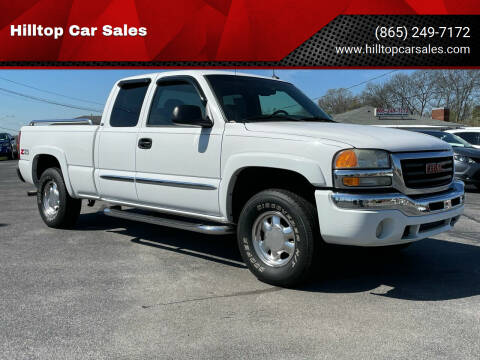 2003 GMC Sierra 1500 for sale at Hilltop Car Sales in Knox TN