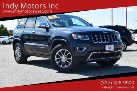 2014 Jeep Grand Cherokee for sale at Indy Motors Inc in Indianapolis IN