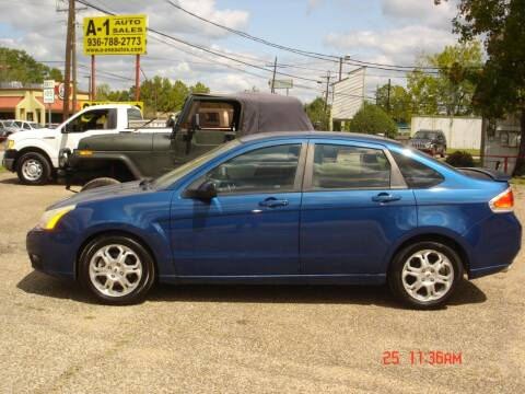 2009 Ford Focus for sale at A-1 Auto Sales in Conroe TX