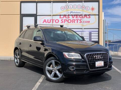 2014 Audi Q5 for sale at Las Vegas Auto Sports in Las Vegas NV