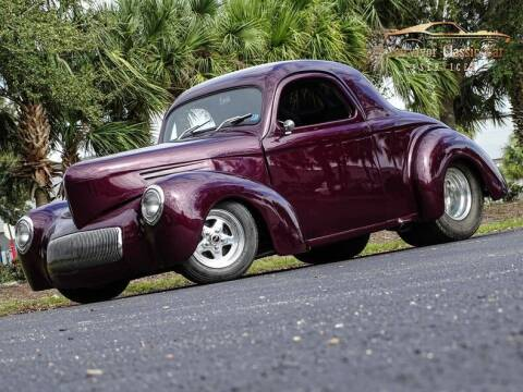 1941 Willys Coupe for sale at SURVIVOR CLASSIC CAR SERVICES in Palmetto FL