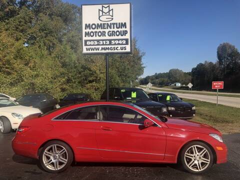 2010 Mercedes-Benz E-Class for sale at Momentum Motor Group in Lancaster SC