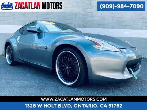 2012 Nissan 370Z for sale at Ontario Auto Square in Ontario CA