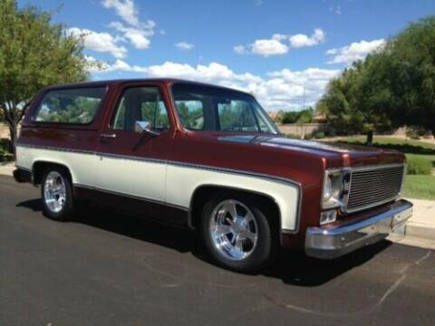 1977 Chevrolet Blazer for sale at Classic Car Deals in Cadillac MI