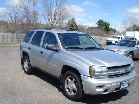 2008 Chevrolet TrailBlazer for sale at North Star Auto Mall in Isanti MN