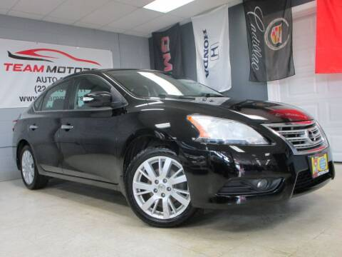 2013 Nissan Sentra for sale at TEAM MOTORS LLC in East Dundee IL