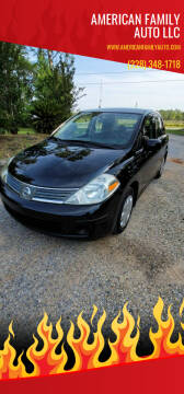2009 Nissan Versa for sale at American Family Auto LLC in Bude MS