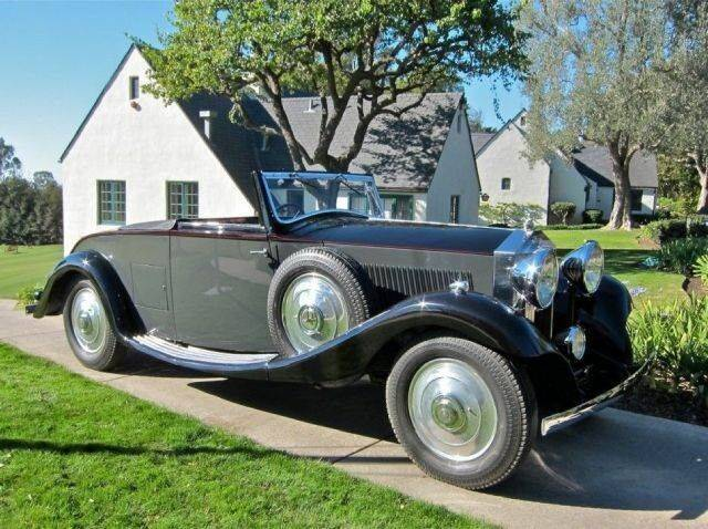 1933 Rolls-Royce 20/25 for sale at Classic Car Deals in Cadillac MI