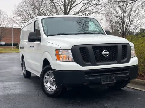 2016 Nissan NV Cargo for sale at William D Auto Sales in Norcross GA