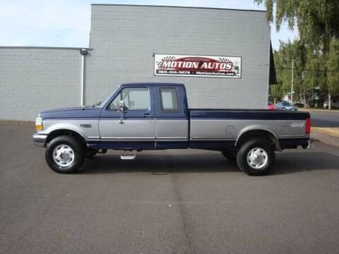 1994 Ford F-250 for sale at Motion Autos in Longview WA