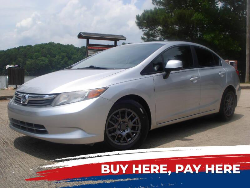 2012 Honda Civic for sale at Car Store Of Gainesville in Oakwood GA