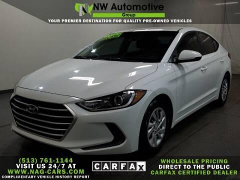 2017 Hyundai Elantra for sale at NW Automotive Group in Cincinnati OH