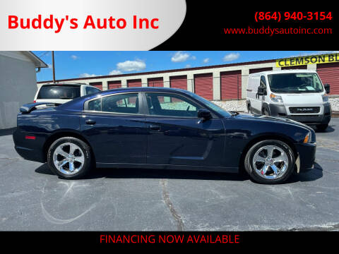 2012 Dodge Charger for sale at Buddy's Auto Inc in Pendleton SC