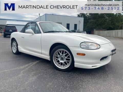 1999 Mazda MX-5 Miata for sale at MARTINDALE CHEVROLET in New Madrid MO