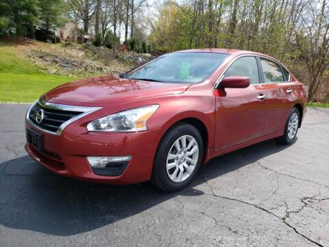 2015 Nissan Altima for sale at STRUTHER'S AUTO MALL in Austintown OH