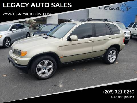 2001 BMW X5 for sale at LEGACY AUTO SALES in Boise ID