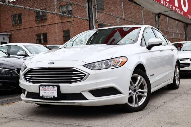 2018 Ford Fusion Hybrid for sale at HILLSIDE AUTO MALL INC in Jamaica NY