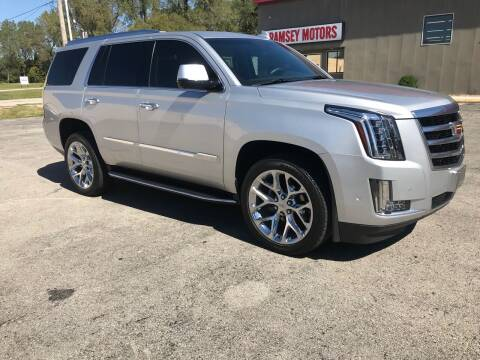 2018 Cadillac Escalade for sale at Ramsey Motors in Riverside MO