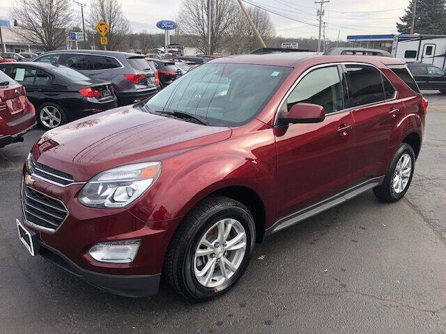 2016 Chevrolet Equinox for sale at BATTENKILL MOTORS in Greenwich NY