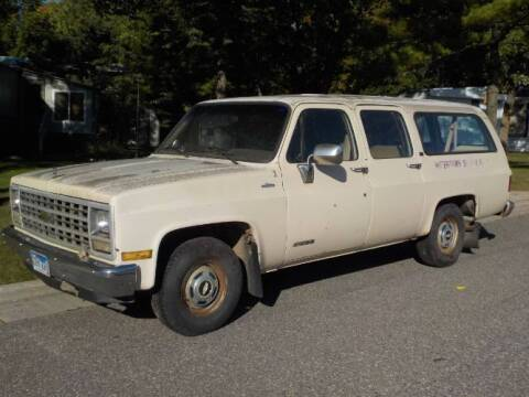 1991 Chevrolet Suburban for sale at Classic Car Deals in Cadillac MI