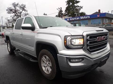 2017 GMC Sierra 1500 for sale at All American Motors in Tacoma WA
