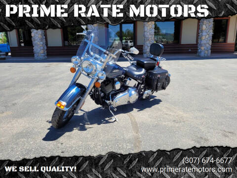 2016 Harley-Davidson Heritage Soft-Tail for sale at PRIME RATE MOTORS in Sheridan WY