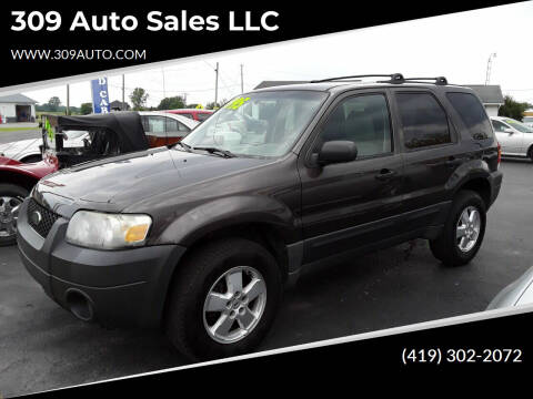 2006 Ford Escape for sale at 309 Auto Sales LLC in Harrod OH