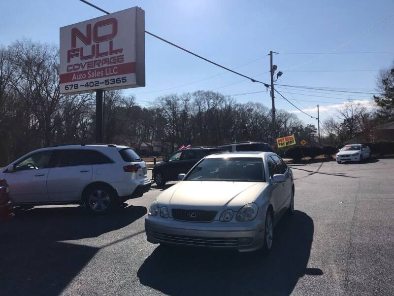 2004 Lexus GS 430 for sale at No Full Coverage Auto Sales in Austell GA