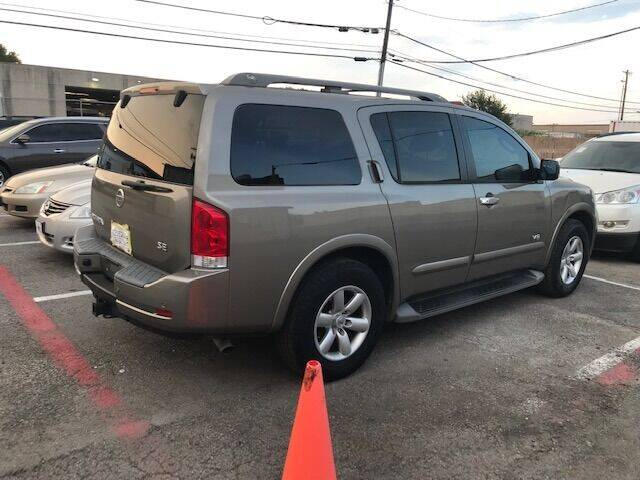 2008 Nissan Armada for sale at Reliable Auto Sales in Plano TX