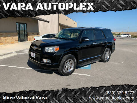 2010 Toyota 4Runner for sale at VARA AUTOPLEX in Seguin TX
