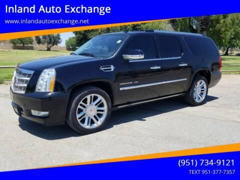 2014 Cadillac Escalade ESV for sale at Inland Auto Exchange in Norco CA