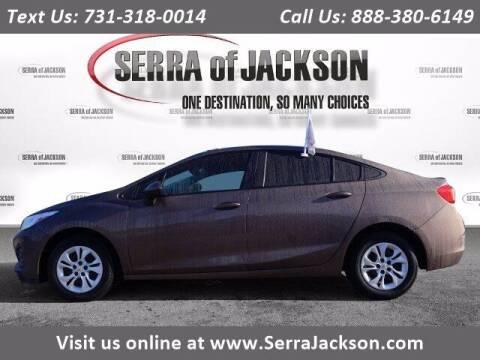 2019 Chevrolet Cruze for sale at Serra Of Jackson in Jackson TN