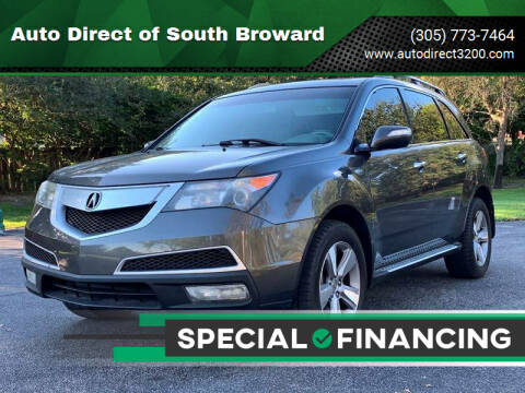 2012 Acura MDX for sale at Auto Direct of South Broward in Miramar FL